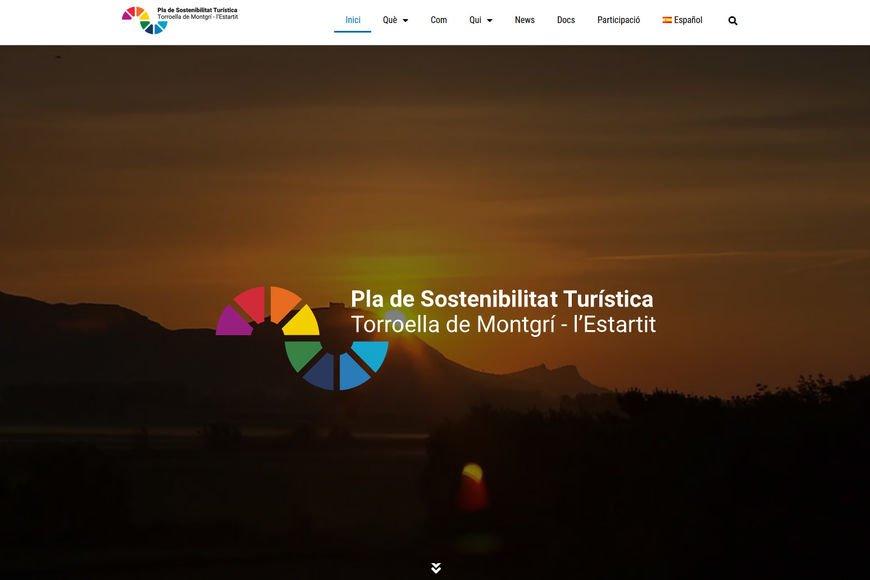 El Pla de Sostenibilitat Turística estrena web i imatge gràfica